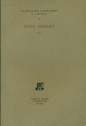 Studi ispanici 1976