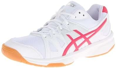Asics - Womens Gel-Upcourt Shoes, UK: 6.5 UK, White/Raspberry/Silver