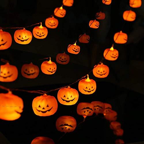 LED Kürbislicht, Feiertagsdekoration Beleuchtungskette, Outdoor-Dekoration Licht mit Licht Urlaub, Garten Feiertagsdekoration Werkzeug