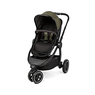 Mothercare 3-Wheel Journey Black Travel System, Khaki