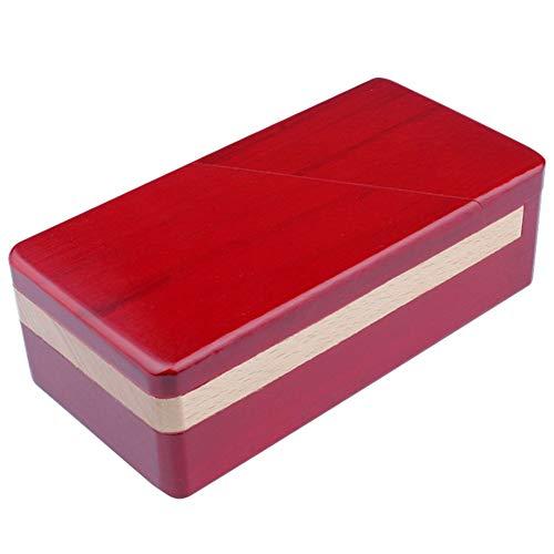 1pc Mini 3d Rompecabezas De Madera Mágicas Cajones Puzzle Secreto Maestro Abrir La Caja Misteriosa Caja De Regalo Juguetes Rompecabezas Para Niños Y Adultos (b)