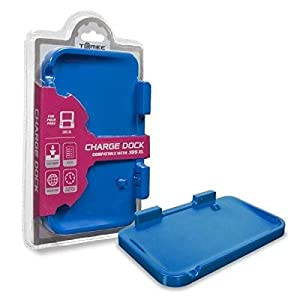 Tomee 3DS XL AC Charge Dock Station Base (Blue) – Nintendo 3DS by Tomee