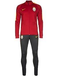 Nike GS M NK Dry TRK Suit SQD K - Chándal Galatasaray SK para hombre, color rojo, talla XL