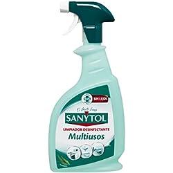 Sanytol - Limpiador Desinfectante Multiusos en Pistola, Todas las Superficies - 750 ml
