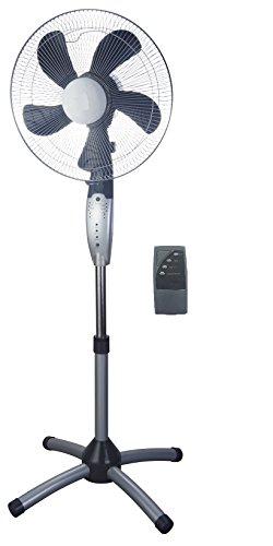 Home108 - ventilatore a piantana con telecomando e rotazione 360gr