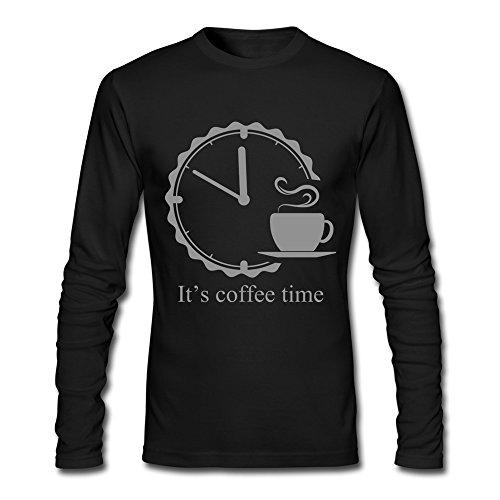 xj-cool-es-tiempo-de-cafe-hombre-performance-tshirts-negro