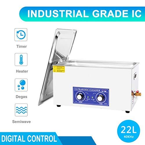 Ultraschallreinigungsgerät 30L Ultraschall-Reinigungsgerät mit Heizung Digitale Timer Ultraschallreiniger für Brillen Schmuck Zahnprothesen Münzen usw (30L)