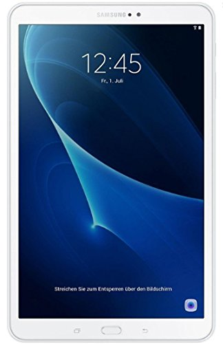 Samsung Galaxy Tab A - 10.1 Inch FullHD Tablet (WiFi Processor, Cortex-A53 Octa-Core, 2GB RAM, 16GB Storage, Android 6.0 Marshmallow), White Color