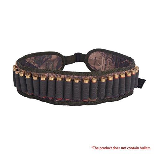 skysc 30runden Munition Muscheln Gürtel Schrotpatronen Carrier Verstellbar Taille Gürtel -