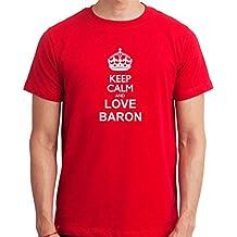 Camiseta Keep calm and love Baron