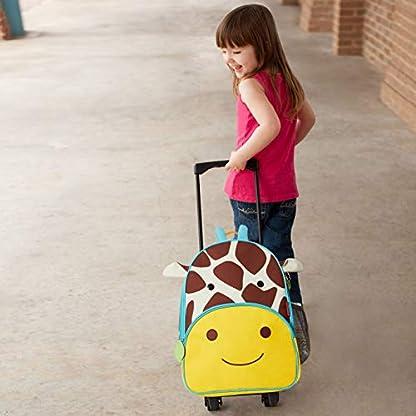Skip-Hop-Zoo-Luggage-Reisetrolley-fr-Kinder-mit-Namensschild-mehrfarbig