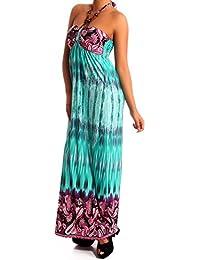 6b410b45b007 Damen Maxikleid als Stylisches Strand-Kleid Oder Party-Kleid - Langes Kleid  für Frühling