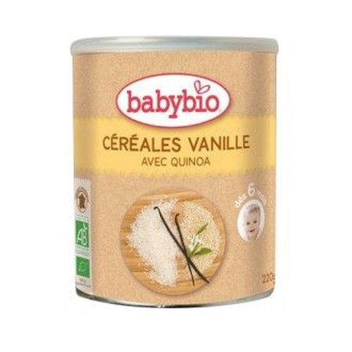 Papilla De Cereales Con Vainilla Bio 6 Meses 220 Gr
