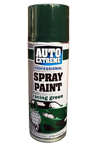Auto Extreme Racing Grün 1931Spray Paint Aerosol 400ml, racing green, 2er-Pack (Green Spray)