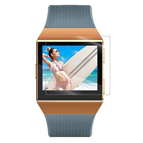 1Anberi [6 Pack] Panzerglas für Fitbit Ionic Intelligent Armband, 9H Härte Gehärtetem Glas Schutzfolie Smart Watch (01)