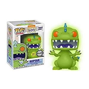 Funko- Figura Pop Rugrats Reptar Glow in The Dark (22576)