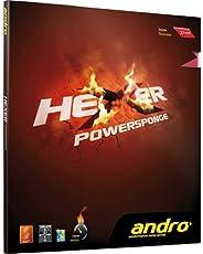 andro Belag Hexer Powersponge, 1,9 mm, schwarz
