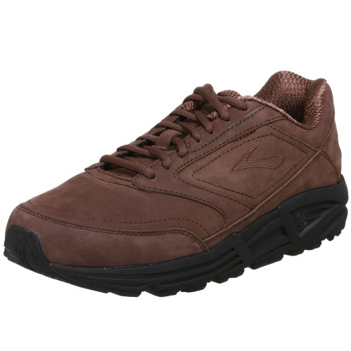 Brooks Men's Addiction Walker Walking Shoe,Brown Suede,15 D