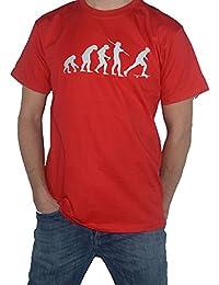 Skateboard T-Shirt - Evolution of Man - Skateboarding Tee Skate Board by My Cup Of Tee