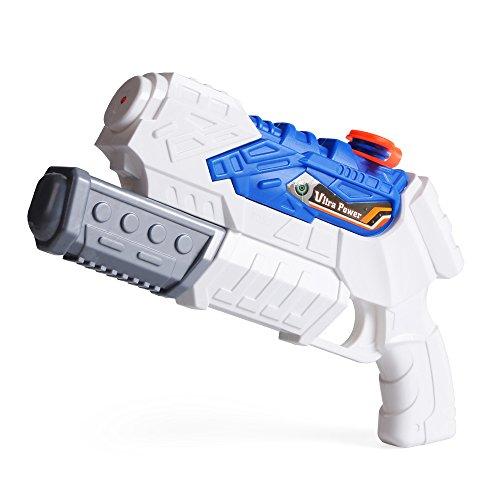 Wasserpistolen Nextx Super Soaker Sommer Outdoor Strand Spielzeug Water Gun Für Kinder (Weiß)