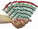 Knopfzelle AG1, 6,8x2,1mm, 1,5V 10er-Pack auf Blister