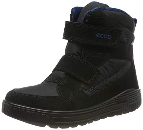 ECCO Unisex-Kinder URBAN Snowboarder Hohe Sneaker, Schwarz (Black/Poseidon 59626), 40 EU