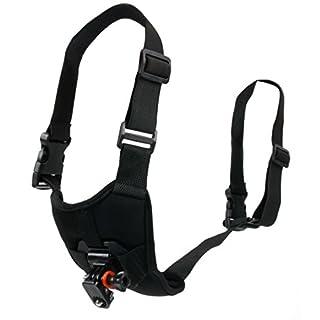 Hundegeschirr (Brust) der Marke Duragadget - mit verstellbaren Riemen - geeignet für die HTKJ Original 4K Dual Display Mini Ultra HD 1080P WiFi und die Action 4K Kamera Aoleca WiFi 2,0 Zoll Full HD 170° Kamera