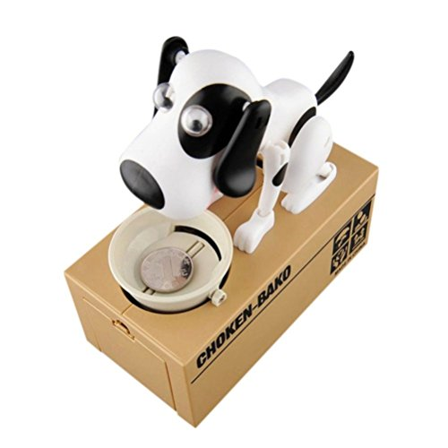 Finders Save risparmio salvadanaio Robotic Puppy Hungry