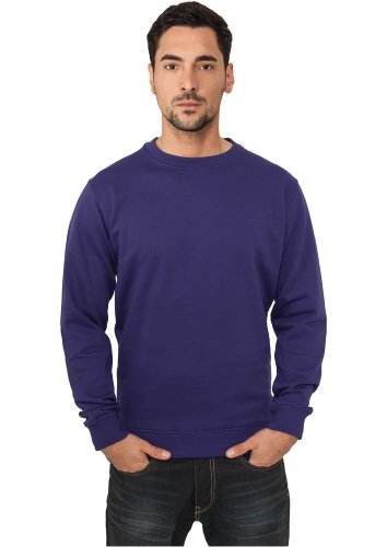 Urban Classics Herren Crewneck Sweater TB424 Purple