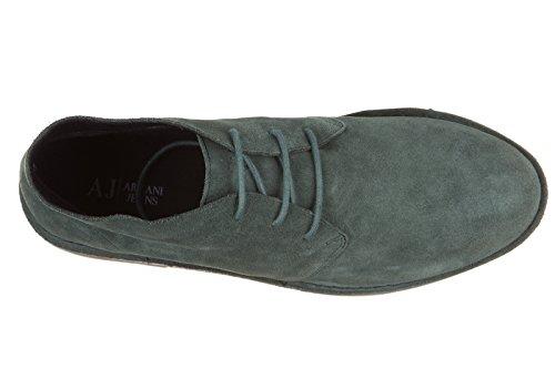 Armani Jeans 935056cc510, Derby homme Grün (VERDE INGLESE 01783)