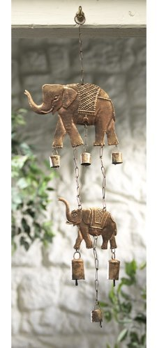 Indien Elefant &Windspiel Glocken