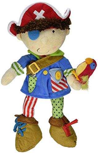 Manhattan Toy Dress Up Gefüllte Piratenpuppe für Kleinkinder