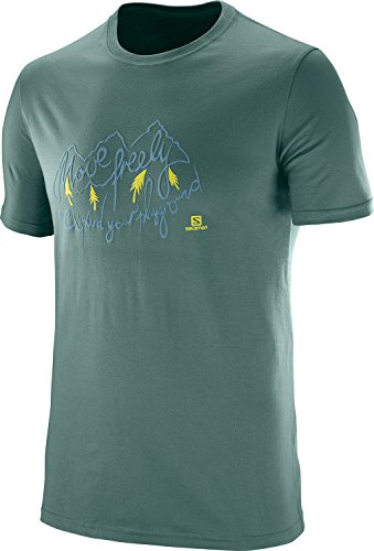 Salomon Road Trip SS M Shirt, Herren north atlantic