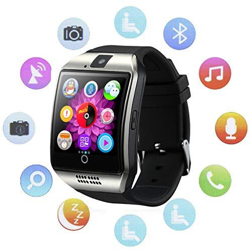 Bluetooth Smartwatch Touchscreen Kamera Wasserdicht Smart Uhr Sport Fitness Smart Watch mit Whatsapp Handy Uhr Bluetooth Uhr Intelligente Armbanduhr Kompatibel IOS Iphone Andriod für Herren Damen Kin