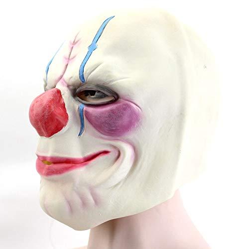Dodom Batman Clown Joker Maske Latex Vollgesichtsmaske Erwachsene Vollkopf Zahltag Clown Cosplay Kostüm Party Maske Für Halloween