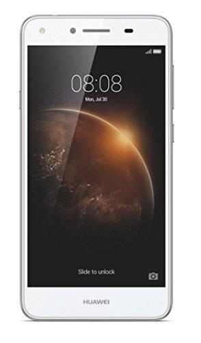 """Huawei Y6 II COMPACT-Smartphone de 5"""" (RAM de 2 GB, memoria interna de 16 GB, camara de 13 MP, Android), color blanco"""