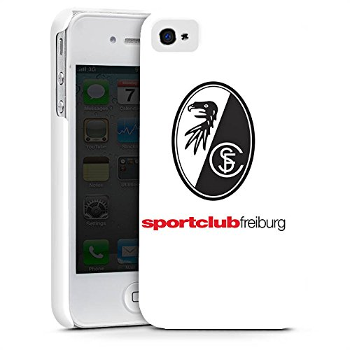 Apple iPhone X Silikon Hülle Case Schutzhülle SC Freiburg Fanartikel Fußball Premium Case glänzend