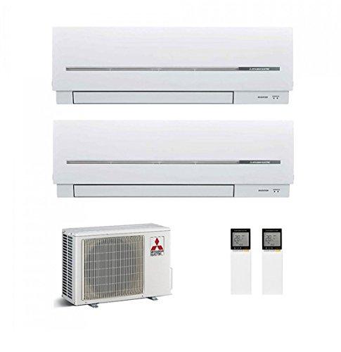 Klimageräte Mitsubishi Dual Inverter-2d42va + 12000+ 9000BTU-Serie SF
