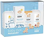 ISDIN NutraISDIN Canastilla Mini Azul, Pack Body Lotion, Bath Gel, Zn40, Facial SPF15