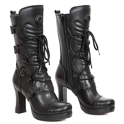 Super Oferta NEW ROCK - Botas de Piel New Rock Originales M.GOTH5815-S2