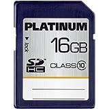 Platinum Carte mémoire SDHC Class 10 16 Go