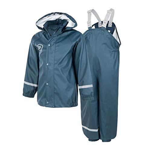 Color Kids Premium Regenset Midnight Navy Blue-122 - Premium Atmungsaktive Jacke