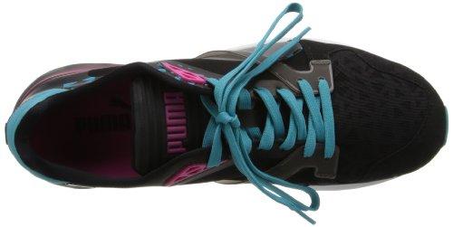 Puma Future Xt-Läufer Durchlässiger Sneaker Black / Beetroot Purple / Bluebird