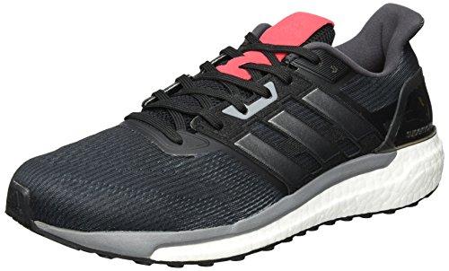 adidas Supernova W, Chaussures de Running Compétition Femme Noir (Negbas/hiemet/rosbas)