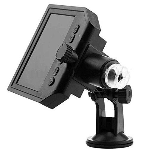 Morza 1-600x3.6MP USB-Digital-elektronisches Mikroskop 4,3 Zoll HD-OLED-Display VGA-Mikroskop...