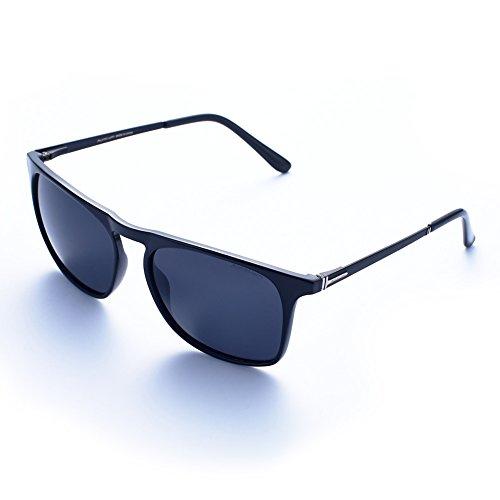 Auralum® Occhiali Occhiali da Sole Polarizzati - Modello Vintage Classico