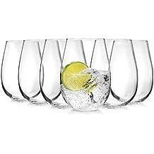 Tivoli Vasos de 6 piezas | cantidad de relleno 500 ml | único en la forma | perfecto para el uso diario