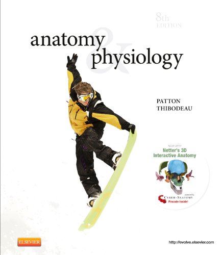Anatomy & physiology and anatomy & physiology online package, 8e por Kevin T. Patton Phd