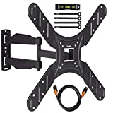 "VonHaus 20-50"" Tilt & Swivel TV Wall Mount Bracket with Cable Management System"