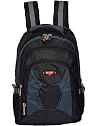 Power In Eavas 30 Liters Nylon Black And Dark Blue 15.6 & 17inch Premium Quality Water Proof Laptop Backpack (...